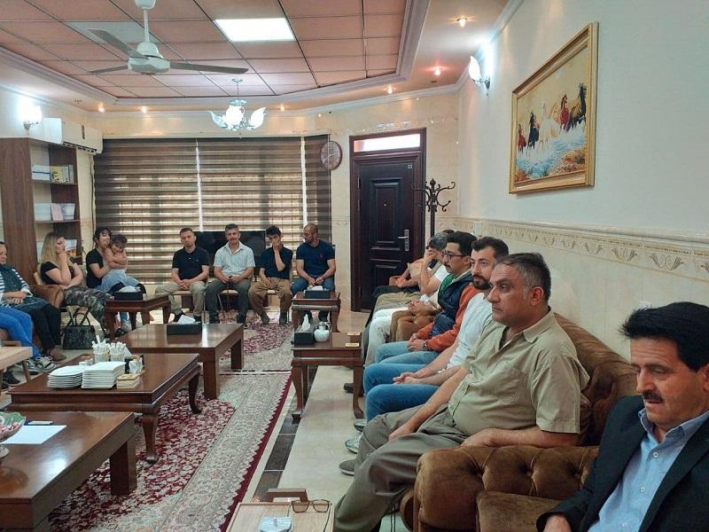 نشست گروهک تروریستی کومله با اعضاء و هواداران در اربیل عراق