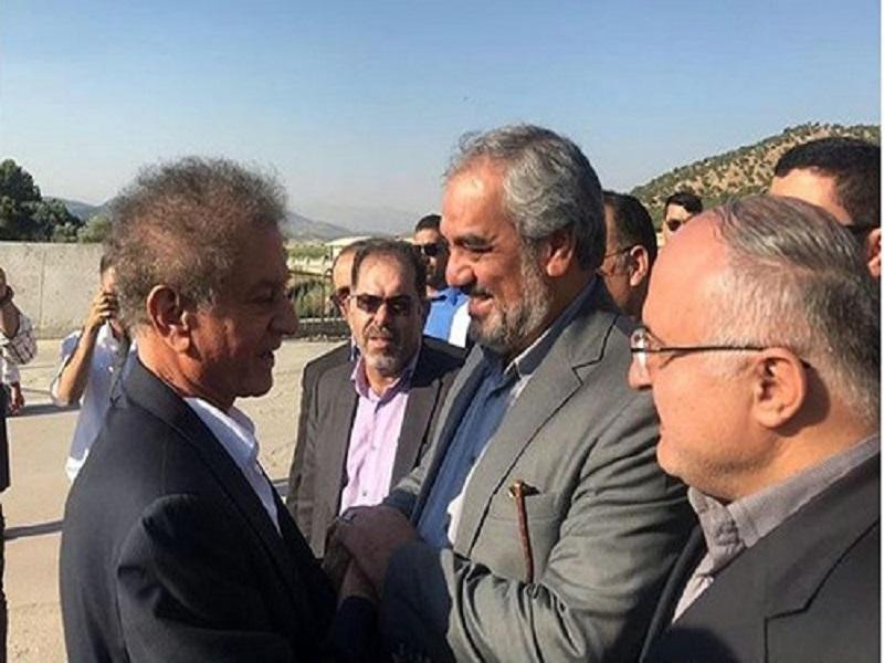 استاد مظهر خالقی بعد از 40 سال وارد ایران شد
