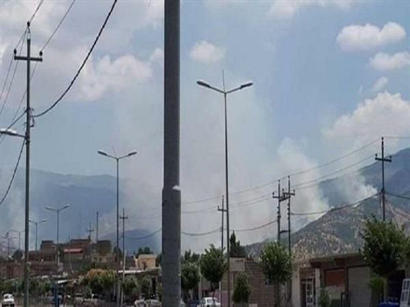 حمله پهپادهای سپاه پاسداران انقلاب اسلامی به مقرات کومله و دمکرات