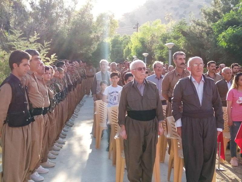 جدیدترین سازماندهی های محرمانه کومله+ افشای نام اعضای حاضر در اردوگاه گروهک کومله کمونیستی