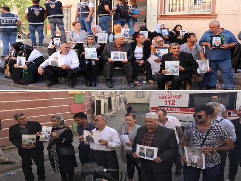 خانواده های فریب خوردگان ایرانی پژاک و پ.ک.ک عازم دیاربکر ترکیه شدند+تصاویر