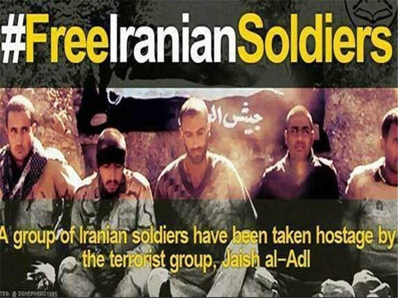 دیدار سخنگوی گروهک تروریستی و داعشی جیش العدل با سرکردگان حزب منحله دمکرات کردستان ایران