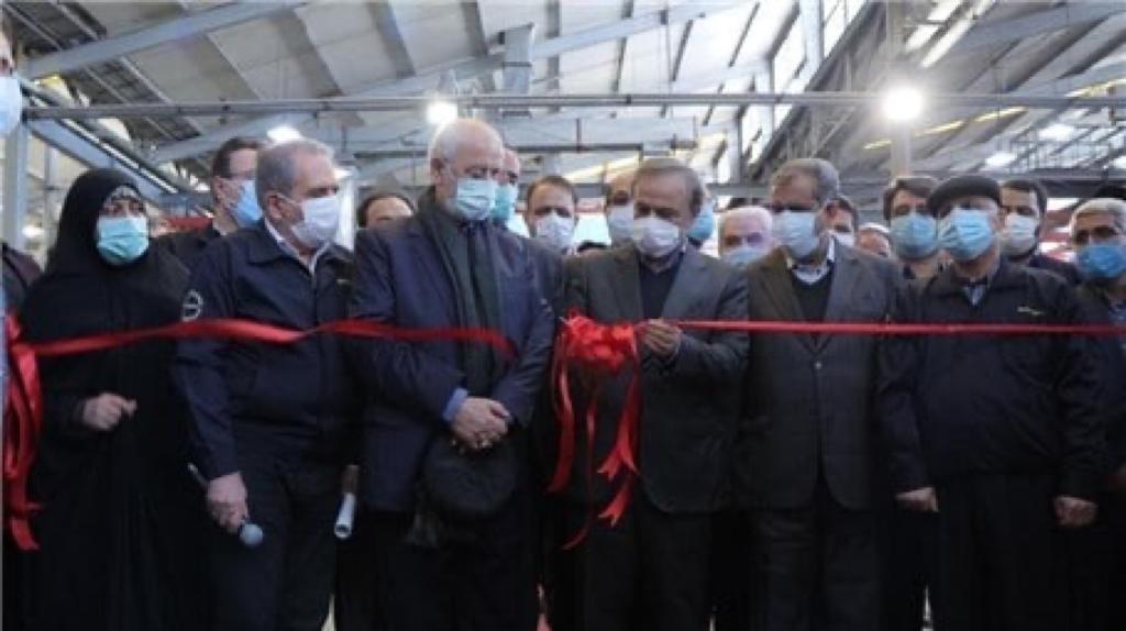کامیونت ایرانی شیلر ۸ تن رونمایی و خط تولید مینی بوس پگاسوس افتتاح شد