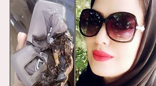 خانم معلم اهوازی در انفجار موبایلش کشته شد