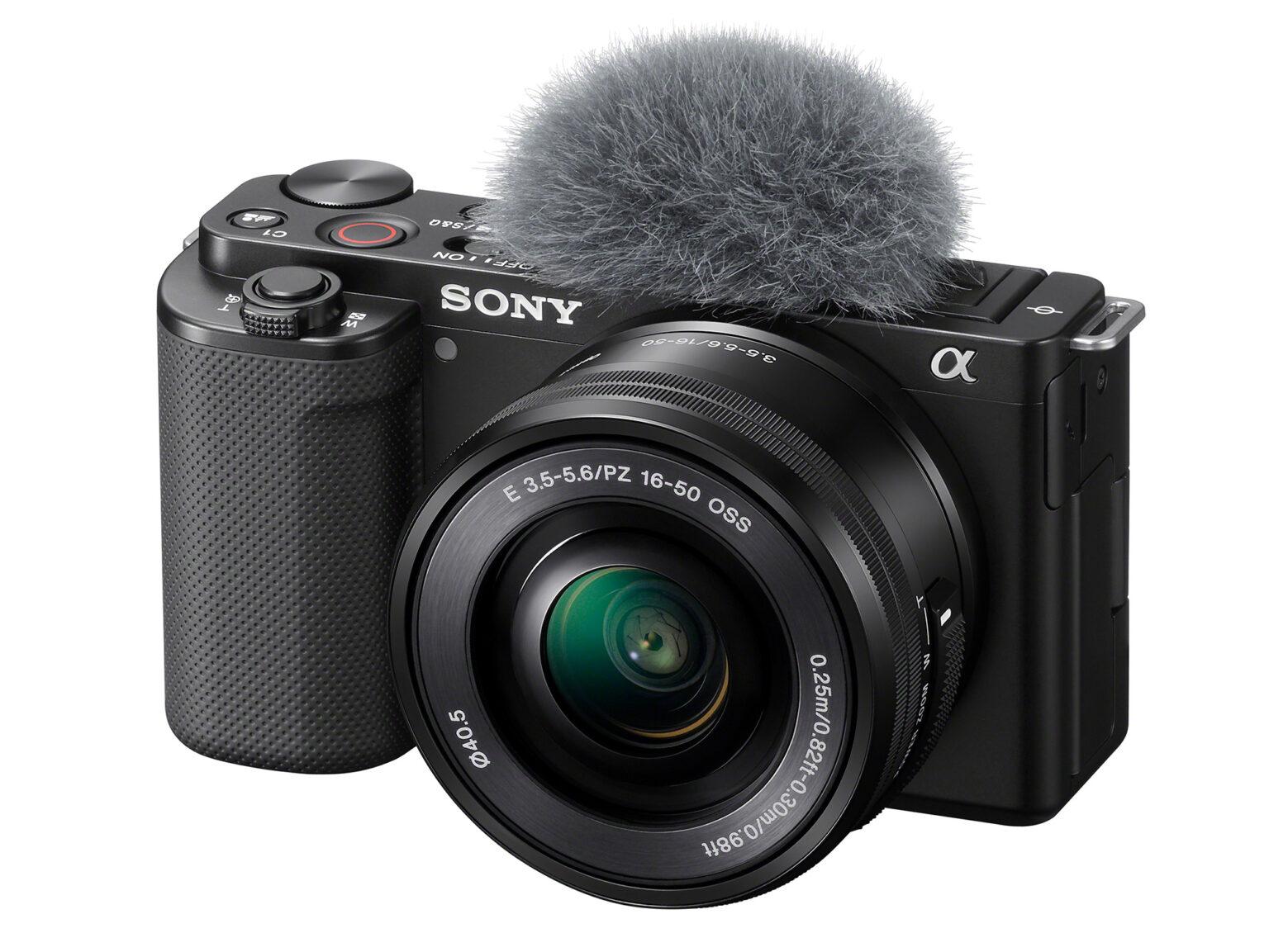 سونی از دوربین ZV-E10 برای ویدیو بلاگرها رونمایی کرد
