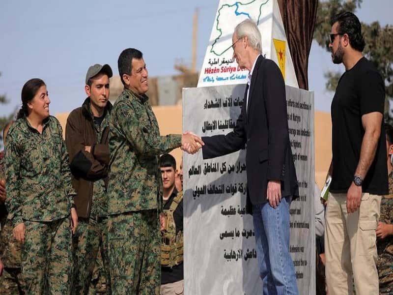 ادامه حضور نیروهای آمریکا در مناطق تحت کنترل کردهای سوریه