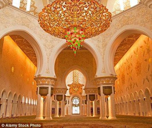 مسجد الشيخ زايد الكبير في أبوظبي