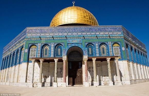 مسجد قبة الصخرة، وهو أحد أجزاء المسجد الأقصى
