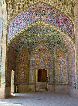 مسجد نصير الملك في ايران